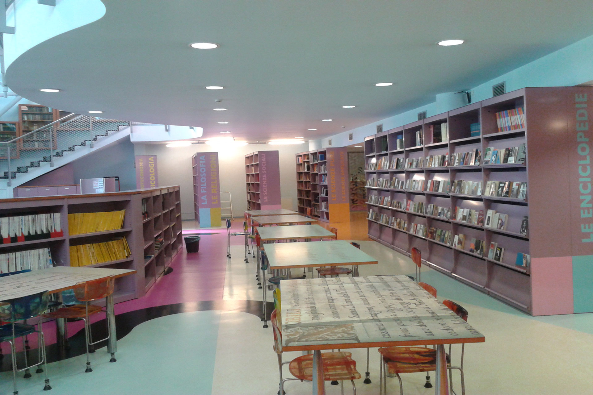Scaffalature Metalliche E Componibili Napoli.F Lli Gionchetti Srl Arredamenti Per Biblioteche Universita E Archivi