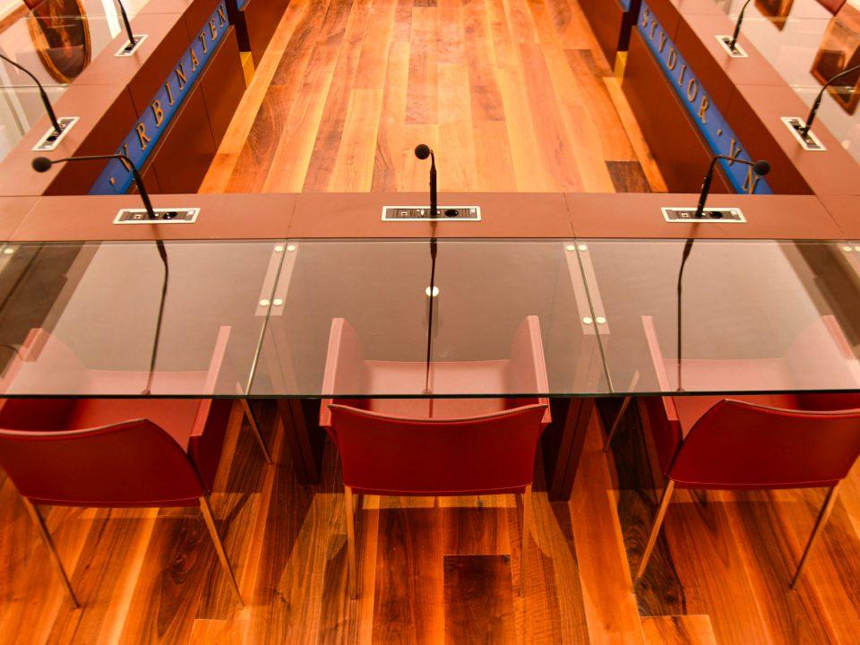 Sala del senato e del consiglio Accademico - Università Carlo Bo - Urbino